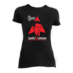 Gary Numan The Pleasure Principle Live Girls T-Shirt