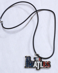 "The Beatles 2x1"" Metal Pendant"
