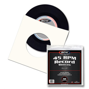 "7"" Paper Records Inner sleeves package"