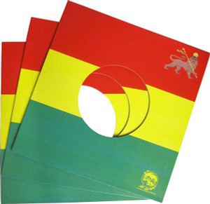"""7"""" Record Reggae print Jacket package"""