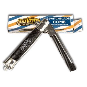 Suavecito Pomade Switchblade Comb