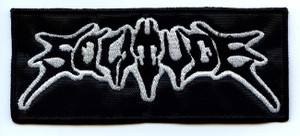 "Solitude - Band 5x2"" Embroidered Patch"