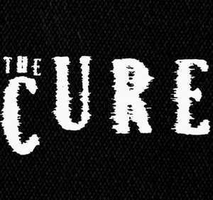 "The Cure Logo 5x3"" Printed Patch"