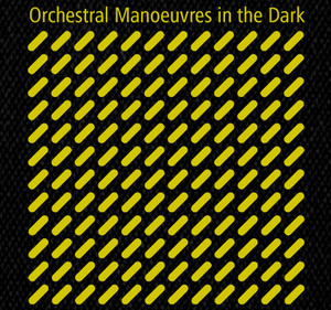 "OMD Orchestral Manoeuvres in the Dark 5x5"" Printed Patch"