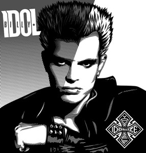 "Billy Idol Idolize Yourself 6x6"" Printed Patch"
