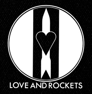 Love and Rockets Logo 4x4.5 Printed Patch