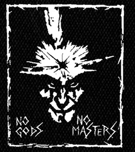 "Amebix No Gods, No Masters 4x5"" Printed Patch"