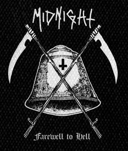 "Midnight Farewell to Hell 4x5"" Printed Patch"