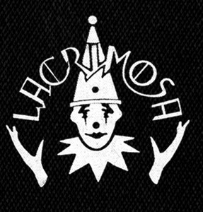 "Lacrimosa - Logo 5x6"" Printed Patch"