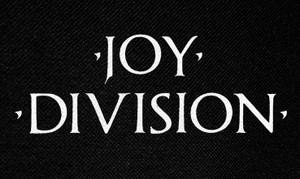 "Joy Division - Logo 5x3"" Printed Patch"