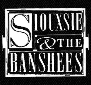 "Siouxsie & the Banshees - Logo 5x4"" Printed Patch"