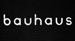 "Bauhaus Logo 6x3"" Printed Patch"