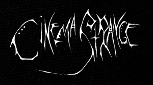 "Cinema Strange - Logo 8x4"" Printed Patch"