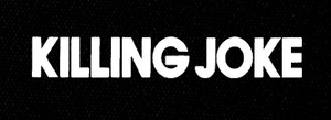 "Killing Joke - Logo 7x3"" Printed Patch"
