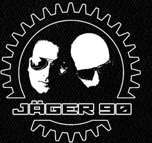 "Jager 90 Faces Logo 4x4"" Printed Patch"