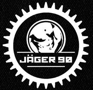 """Jager 90 Jäger Logo 5x5"""" Printed Patch"""