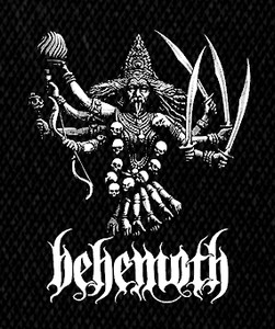 "Behemoth Ezkaton 5x4"" Printed Patch"
