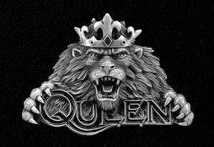 "Queen - Lion 6x4"" Printed Patch"