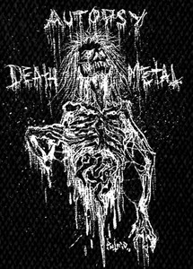 "Autopsy Death Metal 4x5"" Printed Patch"