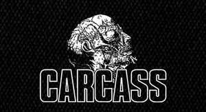 "Carcass Head Logo 5x4"" Printed Patch"