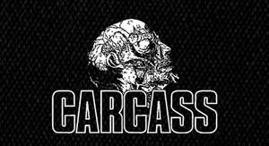"Carcass - Head Logo 5x4"" Printed Patch"