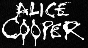 "Alice Cooper - Logo 6x4"" Printed Patch"