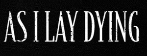 "As I Lay Dying Logo 6x2"" Printed Patch"