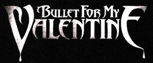 "Bullet for my Valentine Logo 6x3"" Printed Patch"