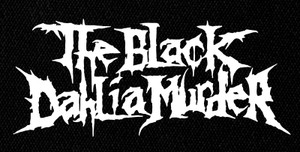 "The Black Dhalia Murder Logo 7x4"" Printed Patch"