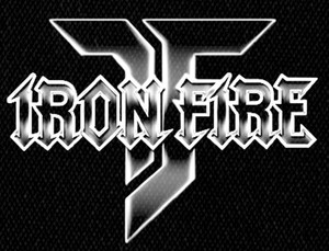 "Iron Fire Logo 5x4"" Printed Patch"