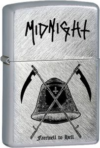 Midnight - Farewell to Hell Chrome Lighter