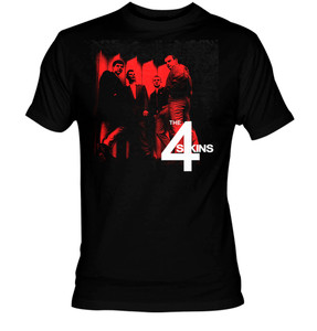 4 Skins Band Pic T-Shirt