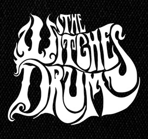 "The Witches Drum Logo 4x6"" Printed Patch"