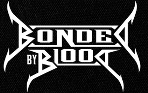 """Bonded by Blood - Logo 5x4"""" Printed Patch"""