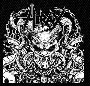 "Hirax Satan's Fall 5x5"" Printed Patch"