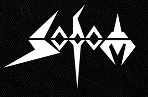 "Sodom Logo 7x5"" Printed Patch"