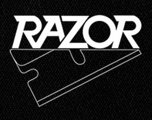 """Razor - Logo 5x4"""" Printed Patch"""