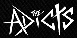 "The Adicts - Logo 6x3"" Printed Patch"