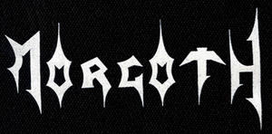 "Morgoth Logo 7x3"" Printed Patch"