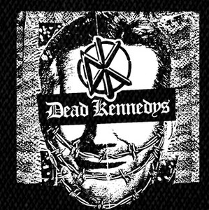 "Dead Kennedys Give me Inconvenience... 4x4"" Printed Patch"