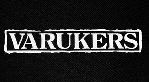 "Varukers - Logo 6x3"" Printed Patch"