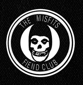 "Misfits Fiend Club 5x5"" Printed Patch"