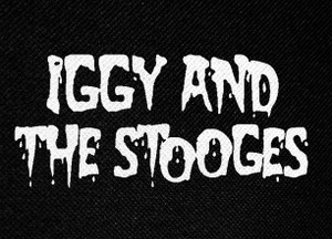 "Iggy and the Stooges Logo 5.5x4"" Printed Patch"
