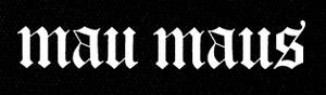 "Mau Maus Logo 5x5"" Printed Patch"