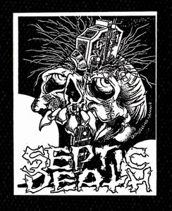 "Septic Death Logo 5x6"" Printed Patch"