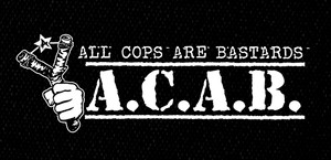 "A.C.A.B. 3x7"" Printed Patch"