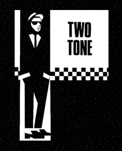 "The Two Tone Story Rude Boy 5x6"" Printed Patch"