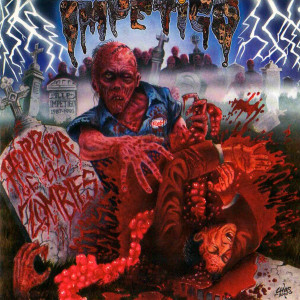 "Impetigo - Horror Of The Zombies 4x4"" Color Patch"