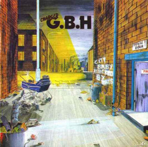 "G.B.H. - City Baby Attacked by Rats 4x4"" Color Patch"