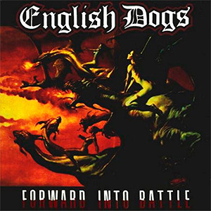 "English Dogs - Forward into Battle 4x4"" Color Patch"
